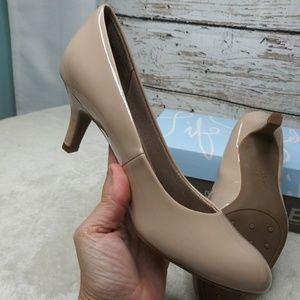 Life Stride/ Nude Taupe Heel/ Sz 8M